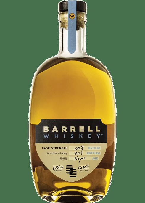 Barrell Whiskey Batch #3