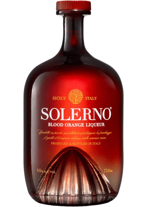 EMPTY PERFECT SOLERNO SICILIAN BLOOD ORANGE LIQUEUR BOTTLE 70cl