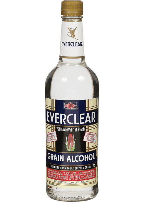 Everclear Grain Alcohol 151