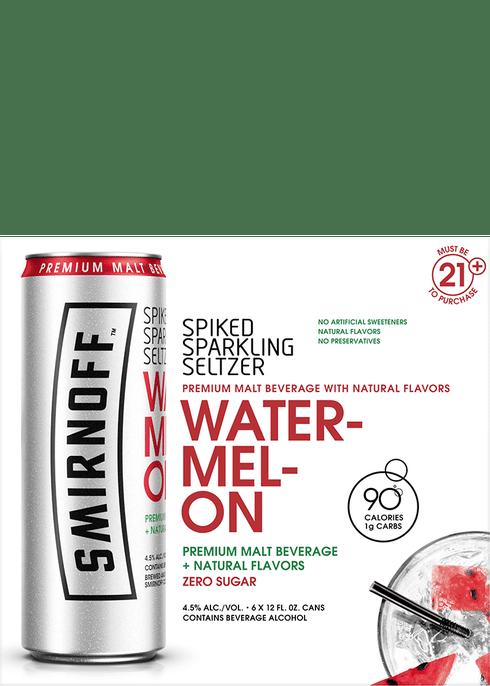 Smirnoff Spiked Sparkling Watermelon