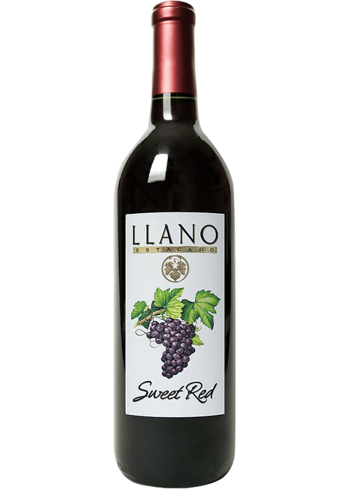 Llano Estacado Sweet Red