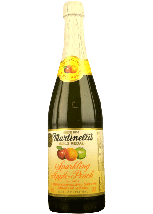 Martinelli S Sparkling Apple Peach Total Wine More