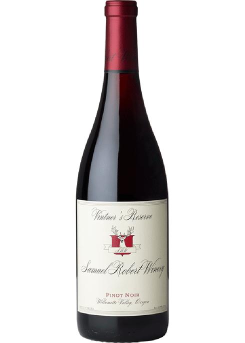 Samuel Robert Winery Pinot Noir Vintner's Reserve Willamette, 2018
