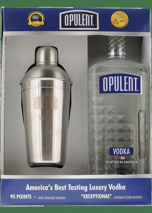 Opulent Vodka w/ shaker
