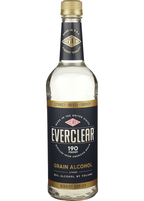 Everclear Grain Alcohol 190 | Total Wine & More