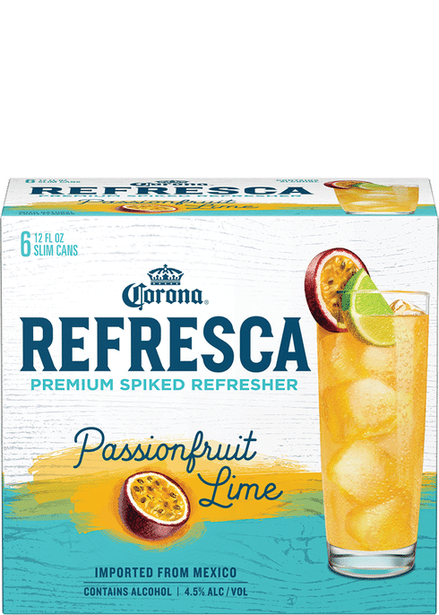 Corona Refresca Passionfruit Lime Spiked Tropical Cocktail Total Wine More