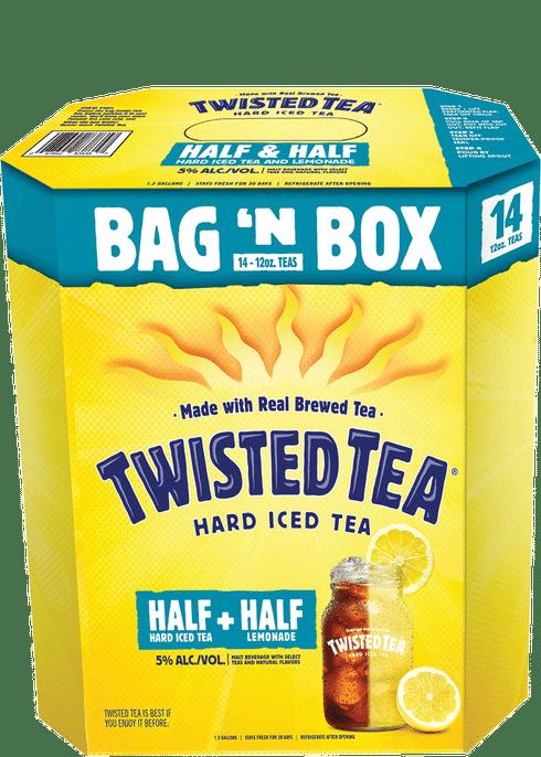 Twisted Tea Half & Half Bag In Box | Total Wine & More