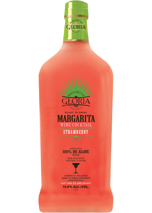 Rancho La Gloria Strawberry Margarita 13 9 Total Wine More