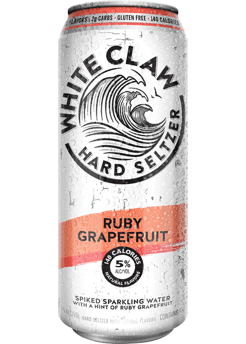 White Claw Hard Seltzer Grapefruit | Total Wine & More
