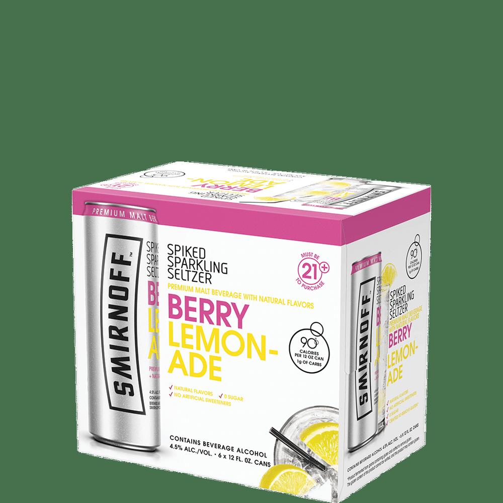 Smirnoff Spiked Sparkling Berry Lemonade