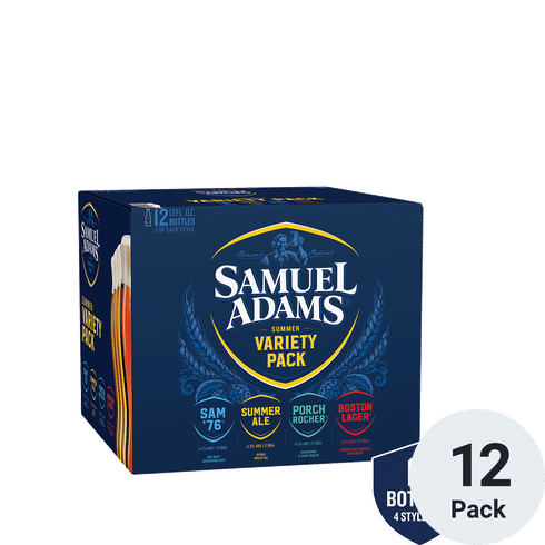 "Samuel Sam Adams Seasonal Tap Handle NEW Style 8.5/"" Short w// 4 Labels New /& F//S"