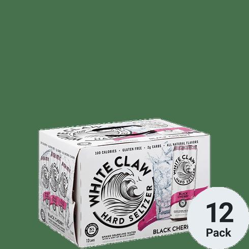 White Claw Hard Seltzer Black Cherry 12pk-12oz Cans