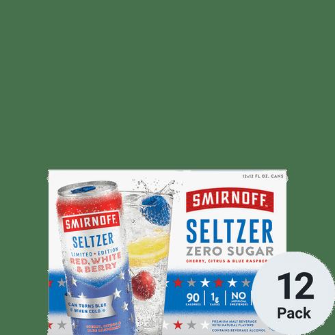 Smirnoff Seltzer Red White & Berry 12pk-12oz Cans