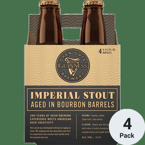 Guinness Bourbon Barrel Imperial Stout 4pk-11oz Btls