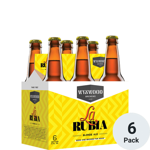 Wynwood La Rubia 6pk-12oz Btls