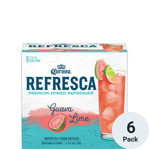 Corona Refresca Premium Spiked Refresher Guava Lime Total Wine More