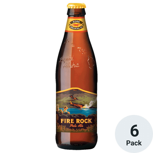 Kona Fire Rock Pale Ale 6pk-12oz Btls