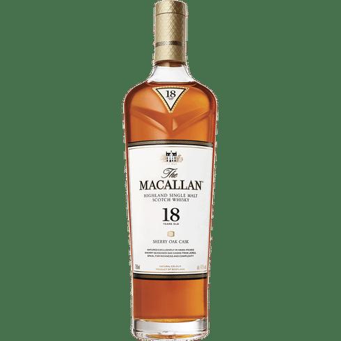 Macallan 18 Yr Sherry Oak 750ml