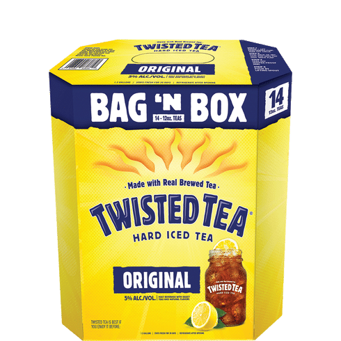 Twisted Tea Bag In A Box | Total Wine & More