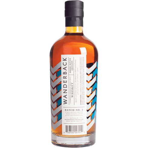 Wanderback Batch 2 Sngle Malt Whiskey 750ml