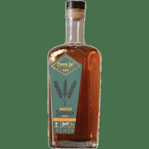Copper Blue bourbon glass