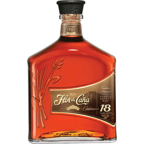 Flor de Cana 18 Year Rum   Total Wine & More