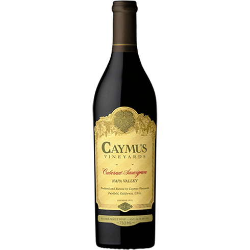 Caymus Cabernet, 2018 750ml