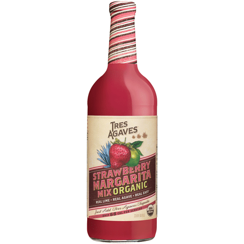 Tres Agaves Strawberry Margarita Mix Total Wine More