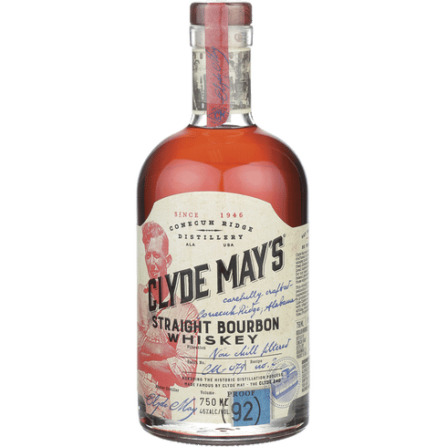 Clyde May's Straight Bourbon 92 PF 750ml
