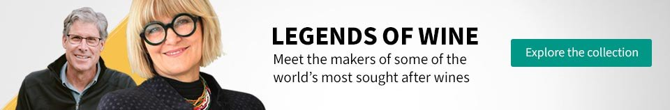 Explore the collection. Legends of wine. Meet the makers of some of the world's most sought after wines.