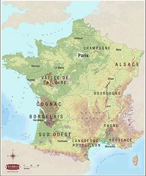 Map Of South Of France Regions.France French Wine Regions Total Wine More