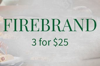 buy any 3 select firebrand wines for 25