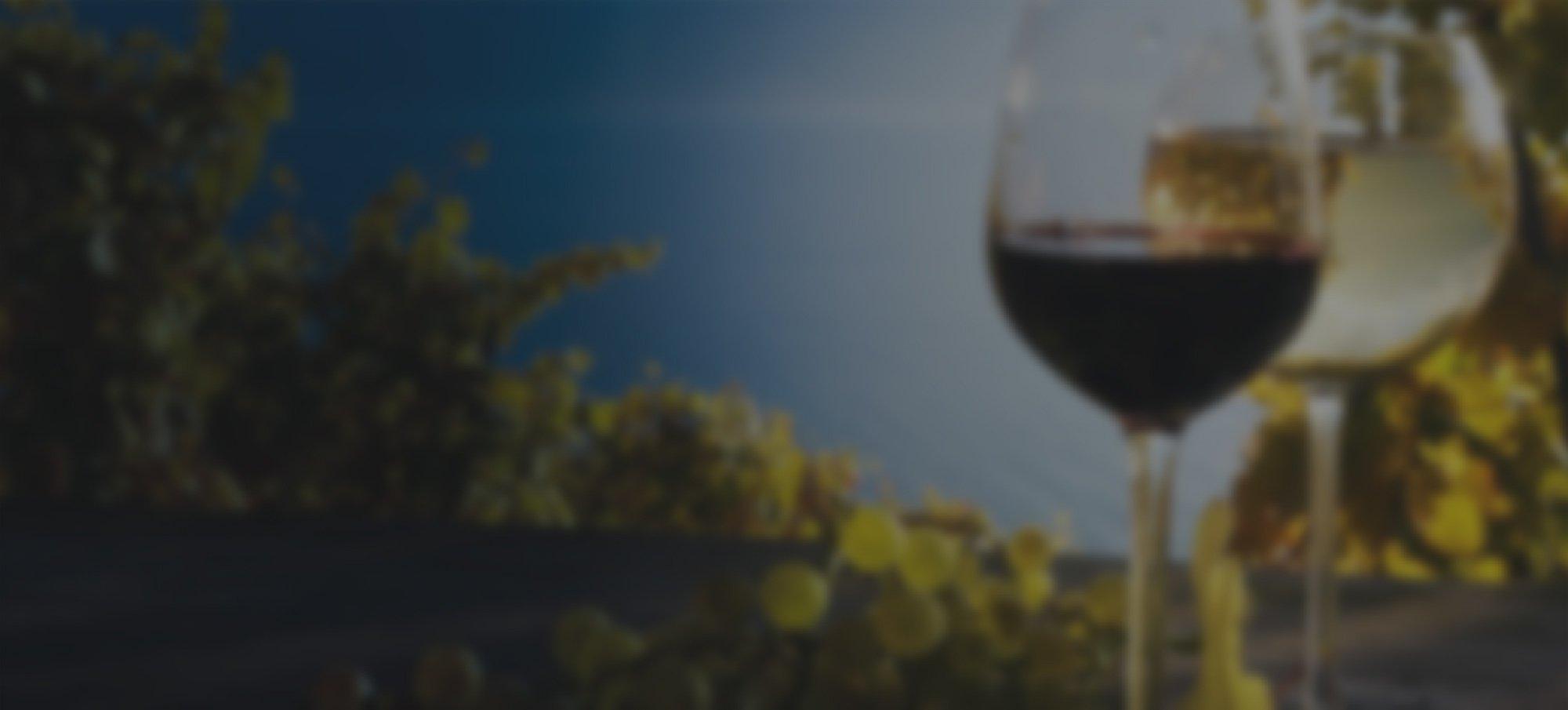 Red u0026 White wine in glasses Total