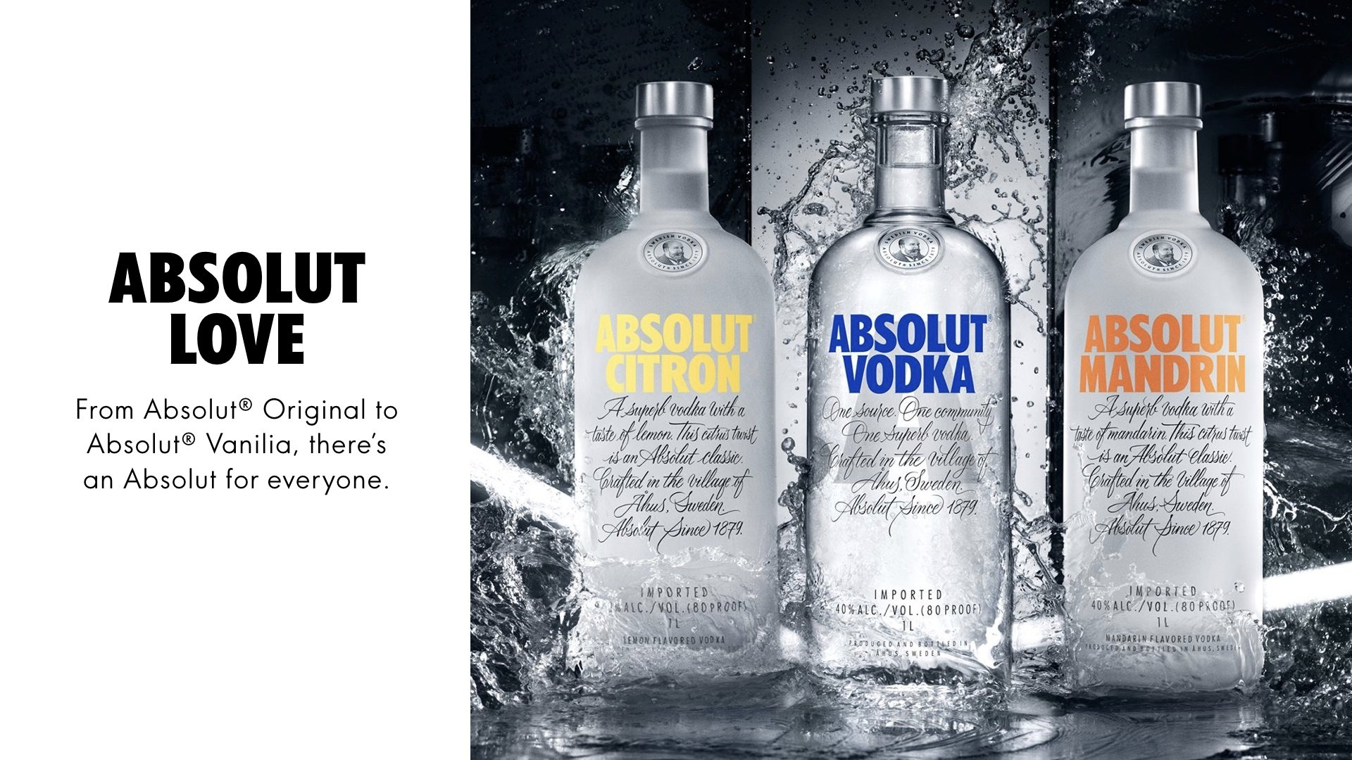 absolut vodka brand analysis When most people think of absolut, they think of vodka however, the pernod ricard-owned brand now wants people to associate its name with fine art absolut art is an online retailer with a mission to make art mainstream enough that everyone can hang a piece on their walls the business sells curated.