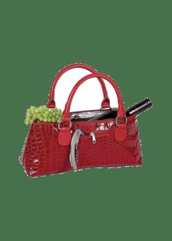 Wine Clutch - Red