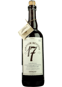 Image result for unibroue grande reserve 17