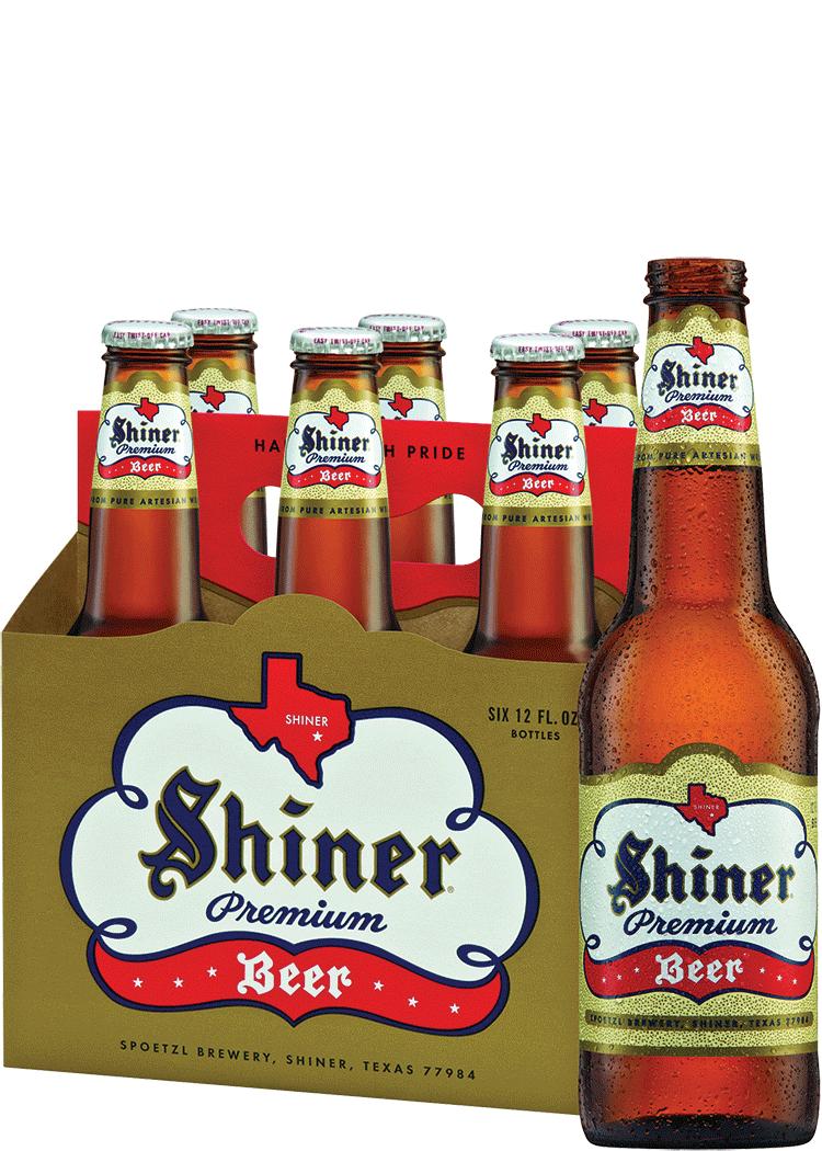 "Shiner Blond New Acrylic Retro 9/"" Tap Handle /& 2 Shiner Light Blond Pint Glasses"